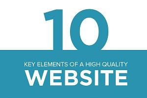 Imagen de Los 10 elementos principales de un sitio web de calidad