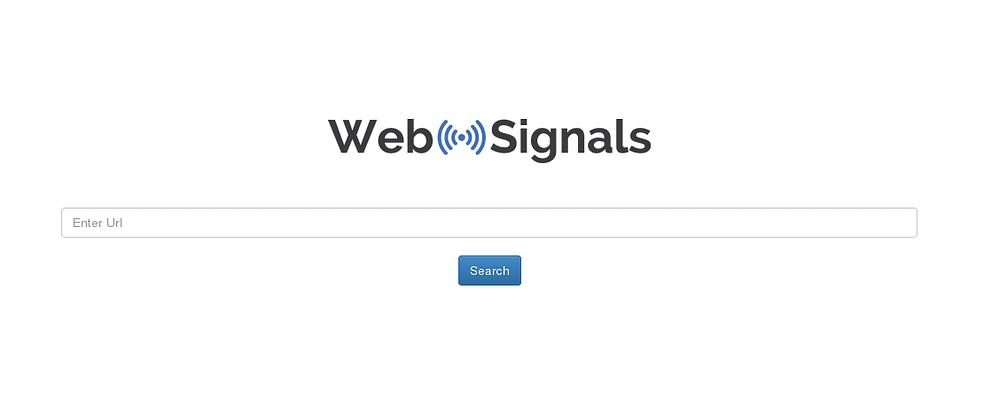WebSignals, herramienta SEO gratis alternativa a SEMRush