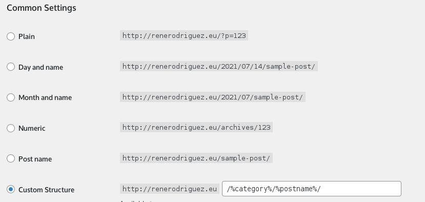 Permalinks WordPress · 10 errores en WordPress que debes evitar · Agencia SEO & Marketing Digital René Rodríguez
