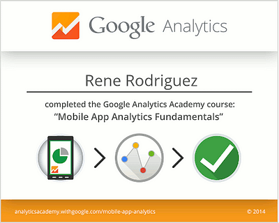 Mobile App Analytics Fundamentals Rene Rodriguez