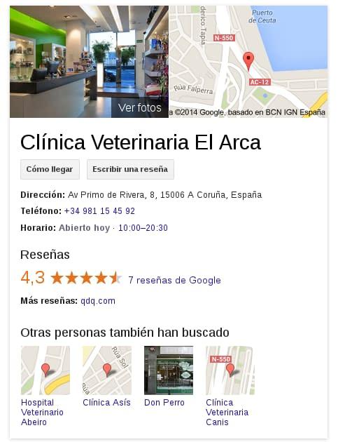 Clínica Veterinaria El Arca Coruña