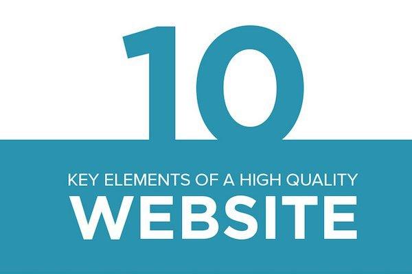 Los 10 elementos principales de un sitio web de calidad