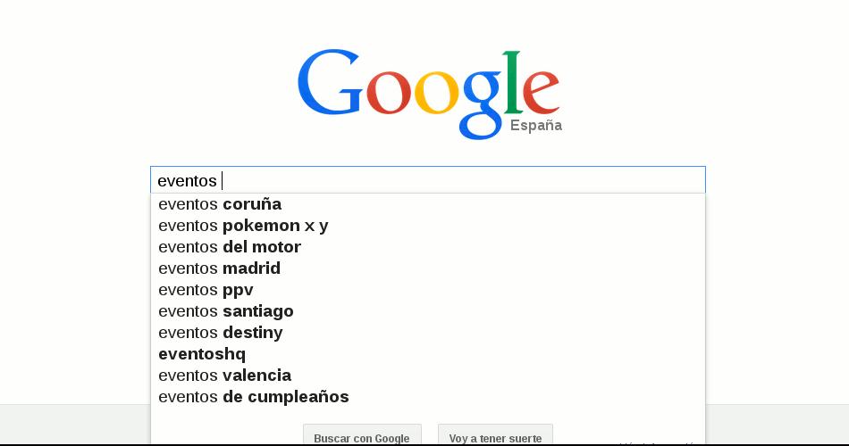 Imagen búsqueda semántica Google